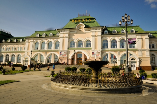2012-08-05 - Khabarovsk - Estación de Ferrocarril
